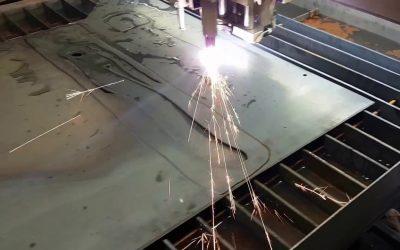 CNC plazma staklės